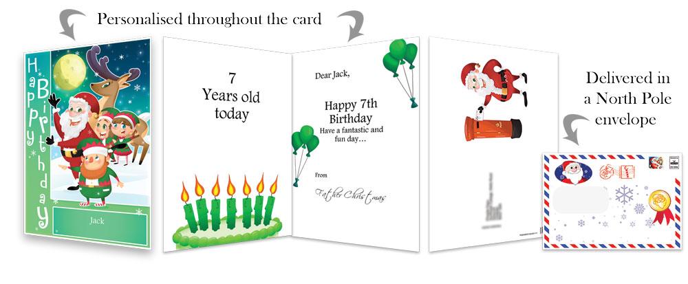 Birthday Card - Green - 2018