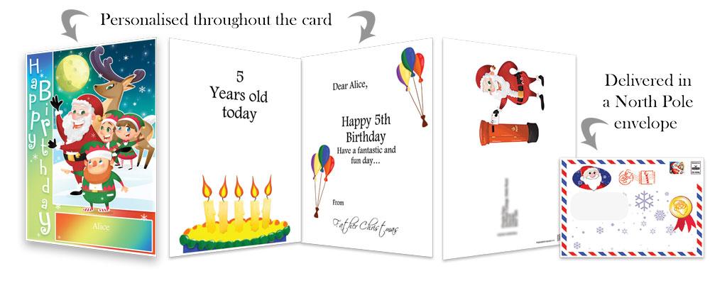 Birthday Card - Rainbow - 2018