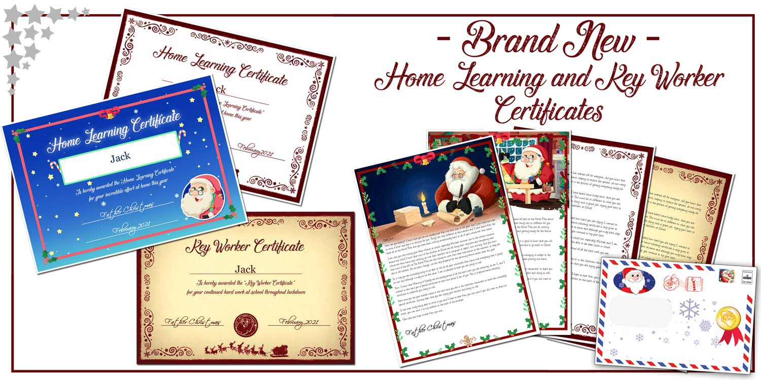 Brand New - Home Schooling Certificates
