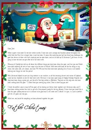 Santa Special COVID-19 Letter