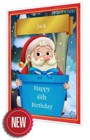 Birthday Card - Blue - 2021