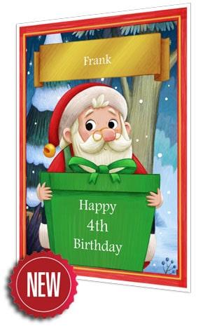 Birthday Card - Green - 2021