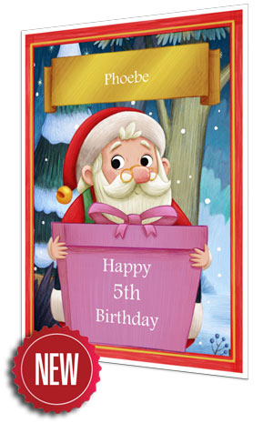 Birthday Card - Pink - 2021