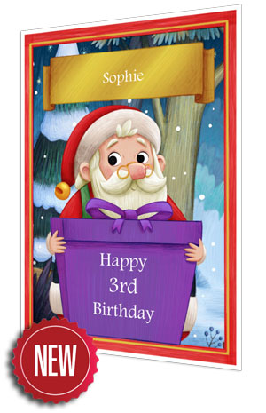 Birthday Card - Purple - 2021