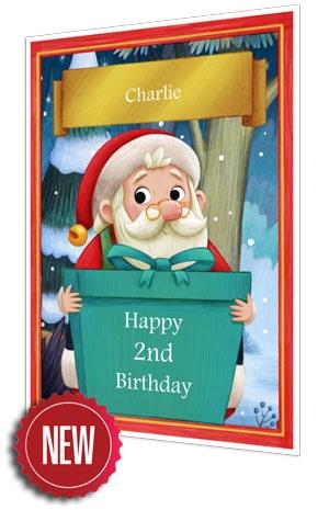 Birthday Card - Turquoise - 2021