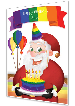 Birthday Card - Rainbow