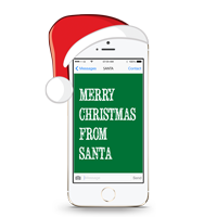Text Message From Santa Claus