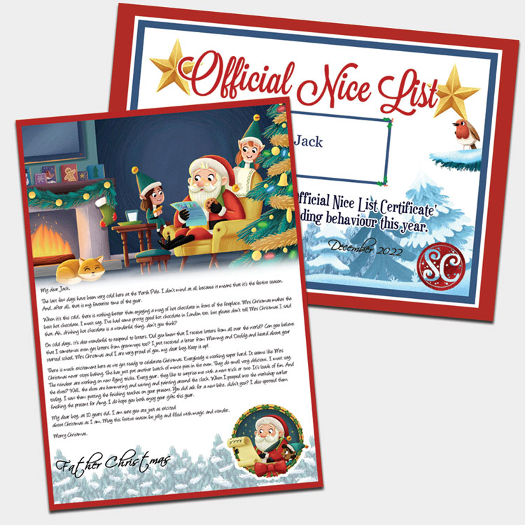 Personalised Santa Letter From Santa Claus