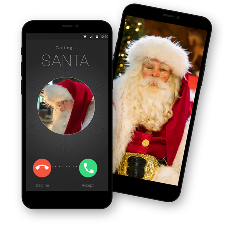Personalised Santa Video Calls direct to your child